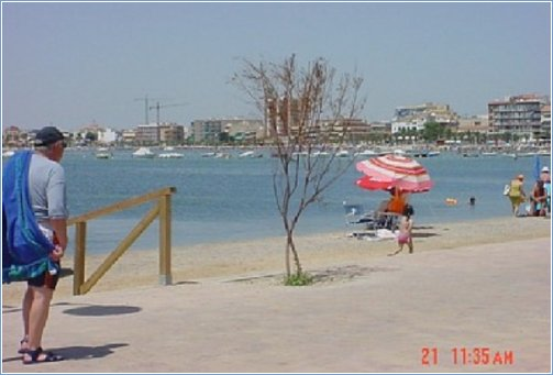 View Of Local Beach