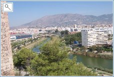 View from Fuengirola Castle