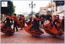 Flamenco Dancing in the street