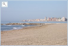 Fuengirola's wide sandy beaches