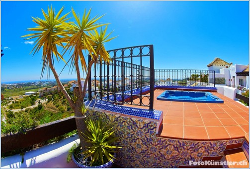 Roof terrace / panoramic sea view