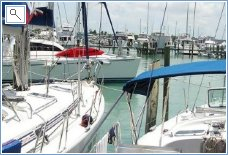 Marina is close, within 10 mins walking distance.