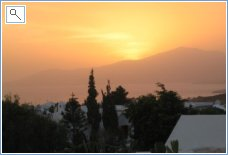 Sunset from villa 02