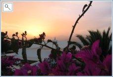 Sunset from villa 03