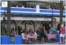 A great place to eat at the Marina
