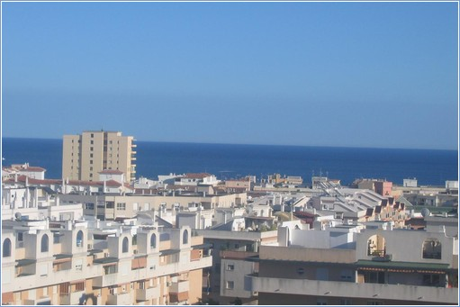 view of sea from balcony