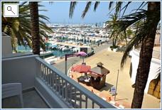 Balcony & Marina.