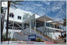 Beach Front Restaurant.