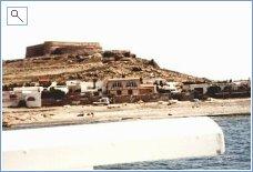 'El Montecillo ' from the sea.