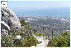 Above Fuengirola .