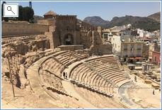 Roman Amphitheatre in Cartegena