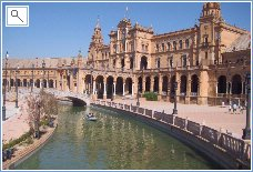 The wonderful sights of Seville just 2 hours drive away