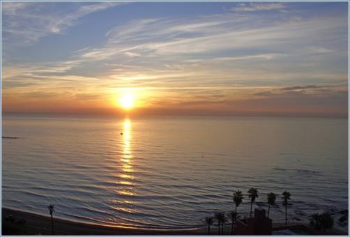 Balcony View at Sunrise