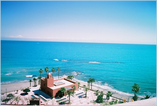 Stunning Sea View from the Apartment Balcony