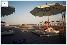 Relaxing on vera playa