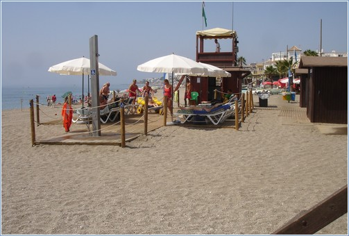 Rest area on Beach only 50m from house