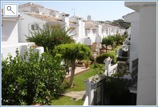 Garden area in Mijas Playa Club