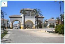 Entrance to Mar Menor Resort