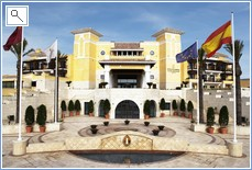 Intercontinental Hotel on the resort