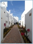 Entry path to Villa