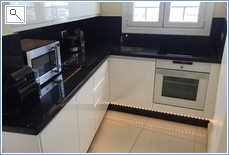 Fully equiped kitchen, induction hob, dishwasher