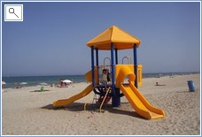 Most of the  beaches have children's play activities