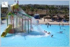 Water park and safari zoo at murcia