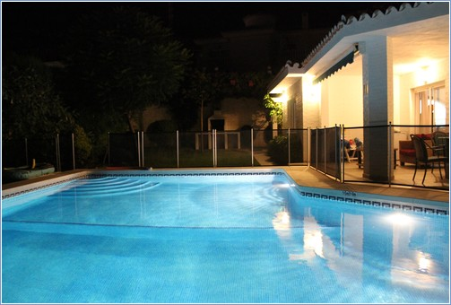 Pool / Terrace by Night