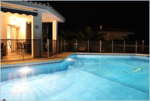 Pool / Terrace by Night