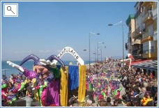 Carnival time in L'Escala early March 2011