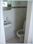Toilet in Bedroom