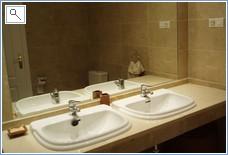 Princess Park master bathroom