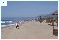 Beach at Las Chapas