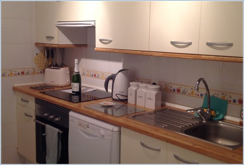 Princess Park kitchen