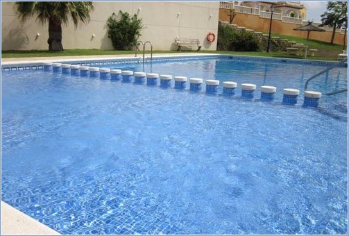 Have a dip in the private pool just 200yds away.
