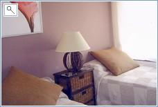 MAIN-FLOOR: BEDROOM, & SHOWER ROOM