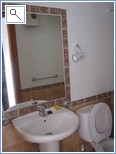 Bathroom number 2, shower and WC