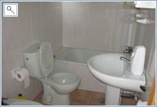 Main bathroom with bidet