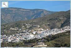 Competa in the Distance