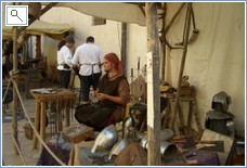 The Medieval Fair and Market in September.