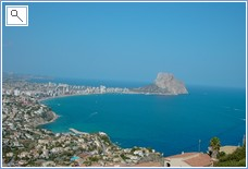 Overlooking Calpe