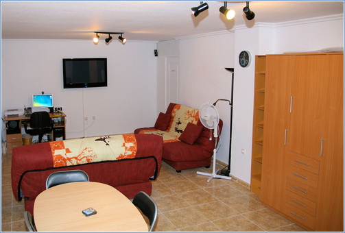 TV/Games Room with Sofa Beds