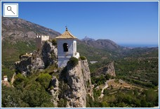 Bell Tower of 'Penon de la Alcala' - Guadalest
