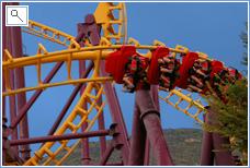 Terra Mitica Theme Park Tizona Rollercoaster