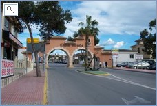 Gate to Ciudad Quesada