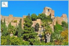 Malaga has many sight seeings amongst others the fortress
