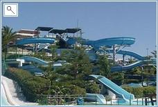 The water park in Fuengirola