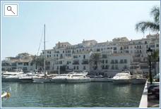 The famous marina at Puerto Banus