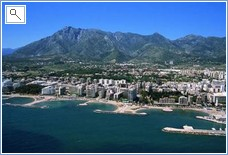 Marbella city view