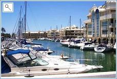 Porto Banus Marina nearby